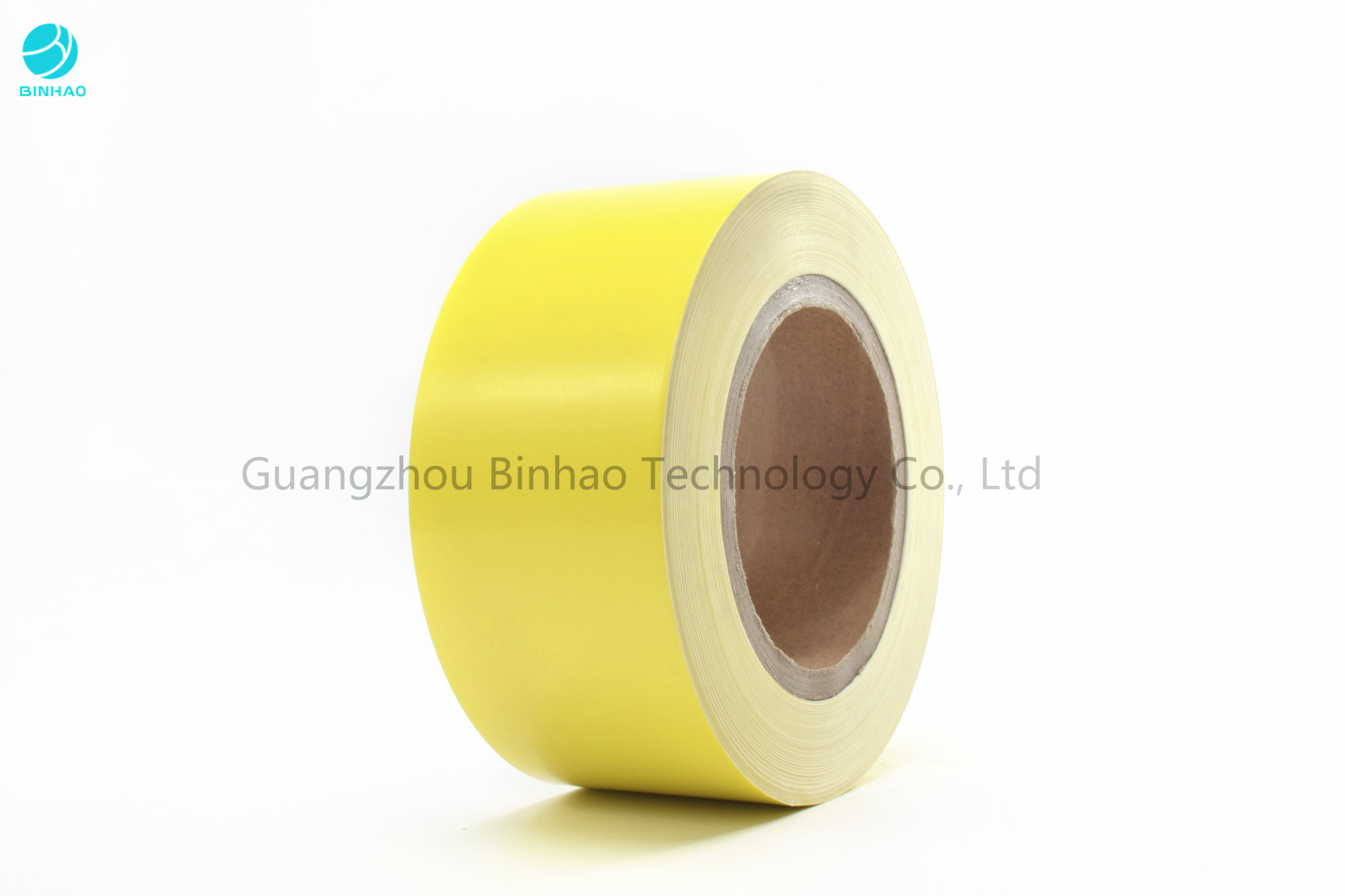 250 gsm Yellow / Blue Printed Inner Frame For Cigarette Cardboard Paper 700m Length